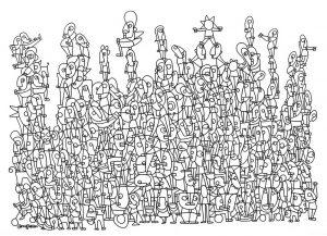 Nissim Ben Aderet, Best_for_Last 100 x 70 cm